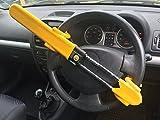 Best Steering Wheel Locks - HEAVY DUTY Car steering Wheel lock high security Review