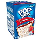 Kellogg's Frosted Strawberry Pop Tarts 14.7 OZ (416g)
