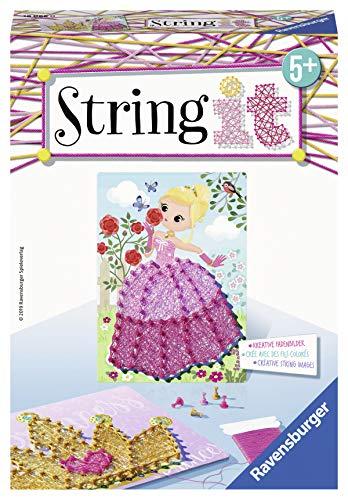 Ravensburger 18066 18066-String it Mini: Pink Princess