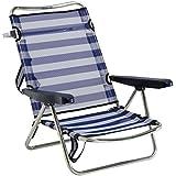 AlcoChaise inclinable pour plage, aluminium, Fibreline - Pack de 2