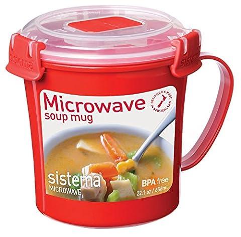 2 x Sistema Tasse à soupe 656 ml