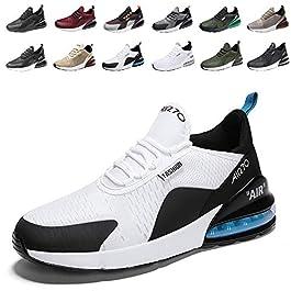 populalar – Scarpe da corsa, da uomo e da donna, scarpe da ginnastica, sneaker traspiranti, per corsa, fitness, palestra, outdoor, leggere.