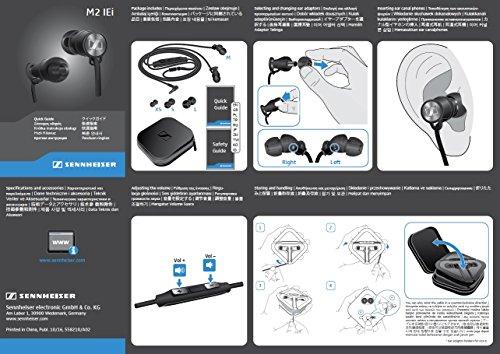 Sennheiser Momentum In-Ear-Kopfhörer (für Apple iPhone) schwarz/chrome - 5