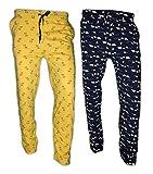 DOT WAVE Womens Cotton Sleep Wear Pyjama Pants Pack of 2 (Combo Offer)
