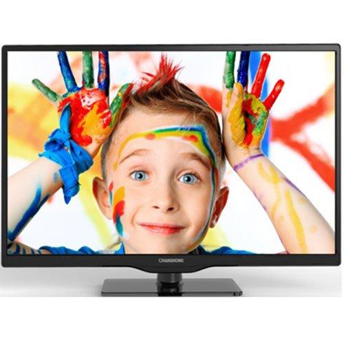 Changhong LED24D1000SD2 61 cm (24 Zoll) LED-Backlight-Fernseher, EEK A (Full HD, 50Hz, DVB-C/T/S/S2, HDMI, USB 2.0) schwarz