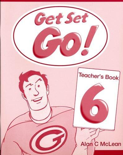 Portada del libro Get Set Go! 6: Teacher's Book: Teacher's Book Level 6 - 9780194351218