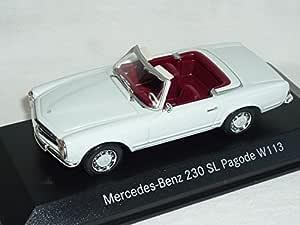 Mercedes-Benz Sl-klasse W113 230sl 230 Sl Pagode Weiss