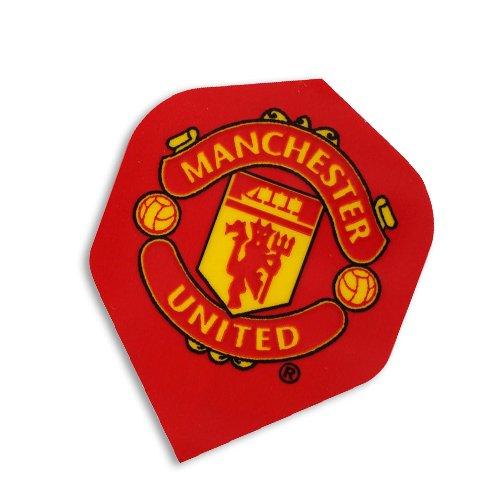F2049 Manchester United Football Club Dart Flights- 3 Sets pro pack (9 flights insgesamt). (Flights Manchester Dart United)