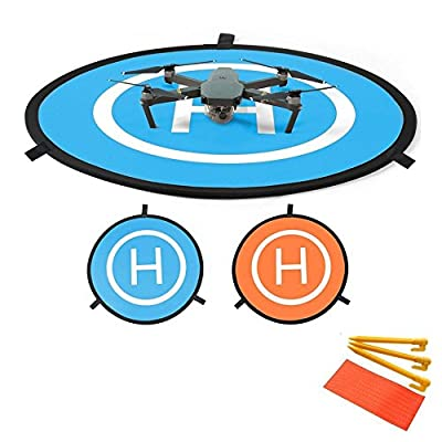 Flycoo 750mm Drone Helicopter Parking Apron Fast Fold Take Off Landing Pad for DJI Phantom 3 4 Inspire Mavic Pro