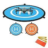 Flycoo 75cm Landing Pad Drone Hélicoptère Parking Tablier piste Décollage...