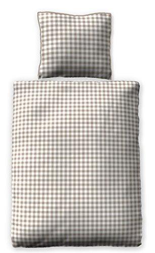 Satinbettwäsche 135x200 cm 100% Baumwolle Design