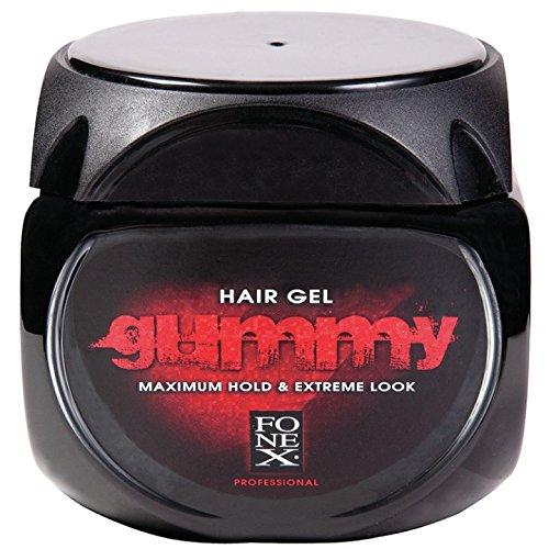 FONEX GUMMY Hair Gel - 220ml - Maximum hold, Extreme Look
