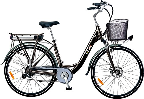 i-Bike City 1d Bicicletta Elettrica con Pedalata...