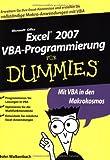 Excel 2007 VBA-Programmierung für Dummies