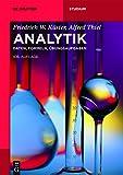 Image de Analytik: Daten, Formeln, Übungsaufgaben (De Gruyter Studium)