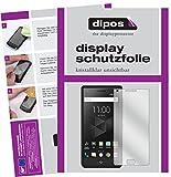 dipos I 2X Schutzfolie klar passend für BlackBerry Motion Folie Bildschirmschutzfolie
