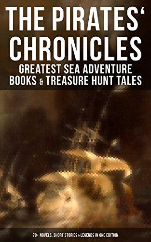 les: Greatest Sea Adventure Books & Treasure Hunt Tales (70+ Novels, Short Stories & Legends in One Edition): Facing the Flag, Blackbeard, ... Under the Waves... (English Edition) (Dum Dum Baum)
