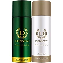 Denver Deo, Hamilton, 165ml and Deo, Imperial, 165ml
