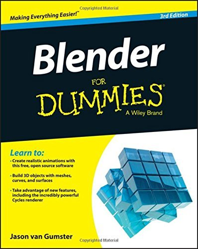 Blender For Dummies by Jason van Gumster (15-May-2015) Paperback