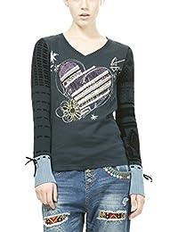 Desigual Canace, T-Shirt à Manches Longues Femme