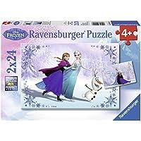 Ravensburger Disney Frozen Suor Jigsaw Puzzle, 24 pezzi, Confezione da 2
