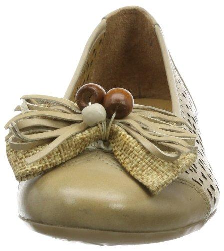 Caprice Ivanna-1-1 9-9-22108-22 Damen Ballerinas Beige (SAND 355)