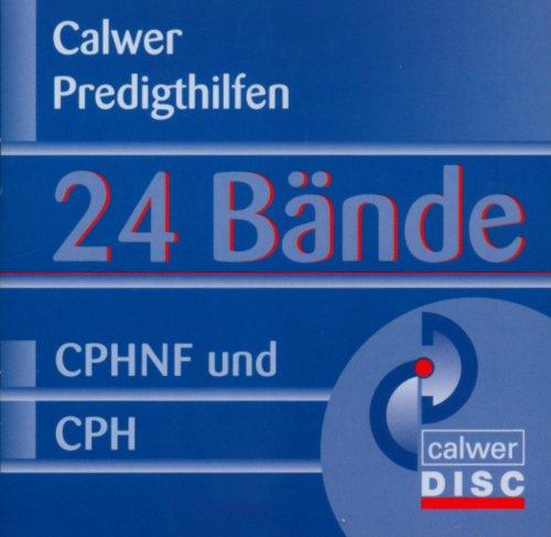 Calwer Predigthilfen. CD-ROM: Beinhalted je 12 Bände der Reihen Calwer Predigthilfe und Calwer Predigthilfe Neue Folge