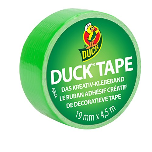 Duck Tape 220893 Gewebeband, 19 mm x 4,5 m, Duckling Spring Lime