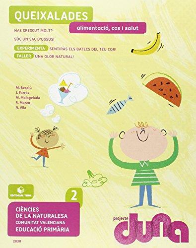 Ciències de la naturalesa 2. Quadern 2 - Projecte Duna - Alimentació, cos i salut - Comunitat Valenciana - 9788430728381