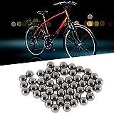Swiftswan Pièces de Rechange d'incidences à Billes d'acier de diamètre de 6mm 50PCS pour des moyeux de Bicyclette
