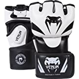 Venum Attack MMA Gloves - Black/Ice, Small