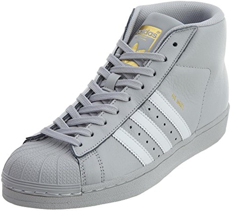 adidas originaux enfants garçon est est est pro - modèle (gamin) lumière solide Gris  / Blanc  / or 4,5 m us grand enfant 9dbb8b
