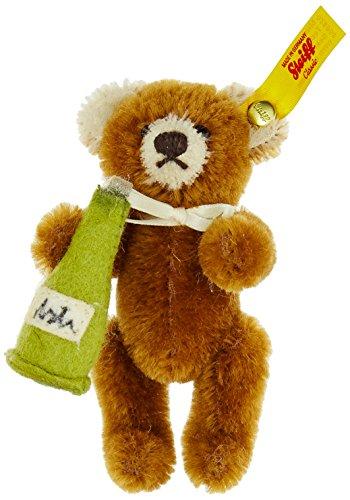 Steiff Mini Teddybär Champagner Flasche Plüsch Spielzeug (braun)