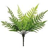 Austinstore Kunstpflanze Boston Farn, künstliche Blätter, für Heimdekoration, 1 Stück