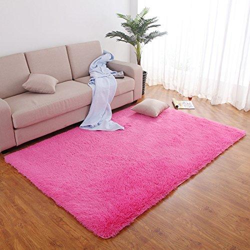 Las alfombras de lana de peluche La Alfombra de los dormitorios estropajos Sala de alfombras, La Red, 2X3 M
