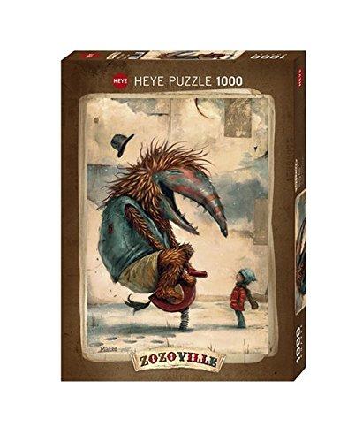 Heye Puzzle Classico-Zozoville Spring Time, VD-29811