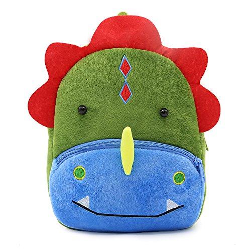 Nette Kleine Kleinkind Kinder Rucksack Plüsch Tier Cartoon Mini Kinder Tasche für Baby Mädchen Junge Alter 1-3 Jahre - Dinosaurier Plüsch Für Kleinkinder