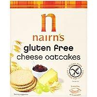 Nairns Gluten Libre De Tortas De Avena 135g De Queso (Paquete de 2)