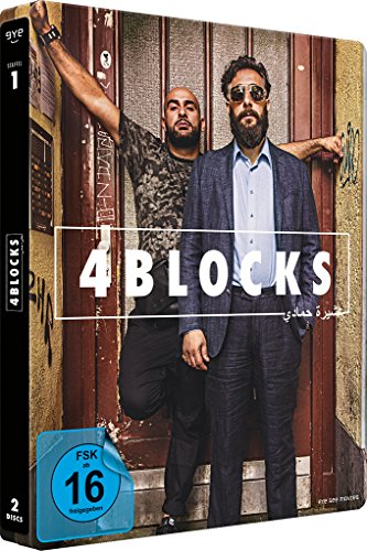 4 Blocks – Die komplette erste Staffel – Steelbook (exklusiv bei Amazon.de) [Limited Edition] [Blu-ray] [Alemania] 51HkCaBRepL