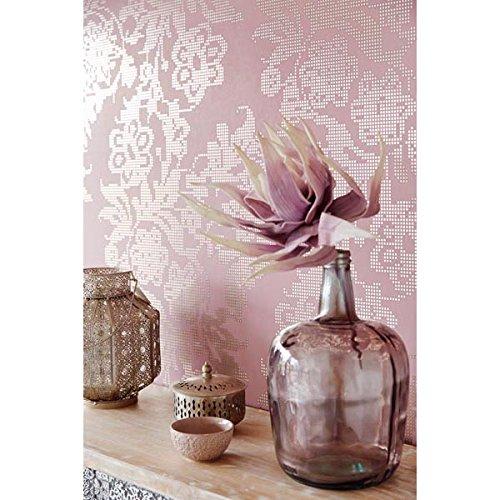 parato-moderno-rosa-ed-argeto-a-flores-efecto-espejo-yasmin-341742