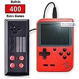 SeeKool Console de Jeu Portable Retro FC, 3 Pouces 400 Jeux Classiques Console de Jeux vidéo rétro, avec 1 Joystick pour…