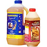 Idhayam Gingelly / Sesame Oil (2 litres Can) & Idhayam Mantra Groundnut Oil (1 Litre Bottle)