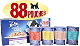 Felix As Good As It Looks Cat Food with Variety Flavours, 88 x 100 g