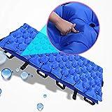 Sistema di materassi a pressione alternata con pompa regolabile,Blue,190x86cm