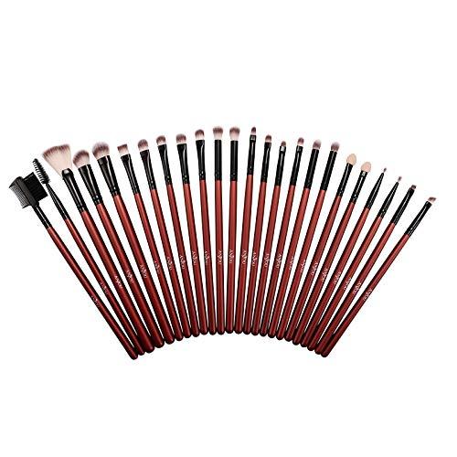 Anjou 24 tlg. Augen Makeup Pinsel Bürsten Schminkpinsel Kosmetikpinsel Make Up Pinsel Kosmetik Set für Eyeliner, Lidschatten, Augenbrauen, Grundierung