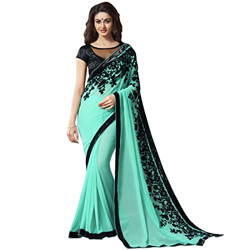 sarees for women party wear offer designer printed sarees with designer blouse pink by akk enterprise