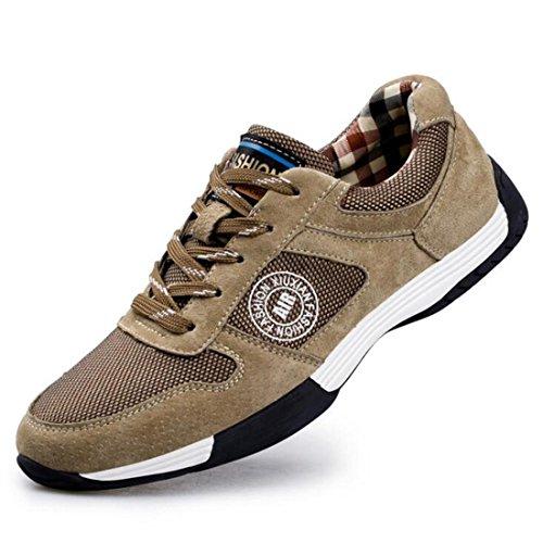 Scarpe da trekking da uomo per la primavera, basse, per aiutare le scarpe casual brown