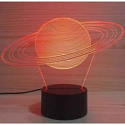 VIOYO Nachtlicht 3D USB solar System mordel tischlampe Baby Schlaf nachtlicht Planet Abstract led visuelle Bunte leuchte