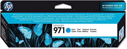 Preisvergleich Produktbild HP 971 Blau Original Druckerpatrone für HP Officejet Pro