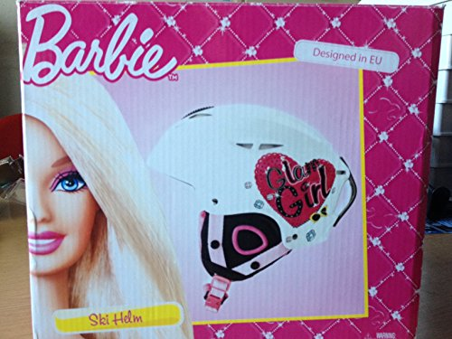 Skihelm ' Barbie ' Farbe: weiß / rosa / pink Größe S (48-54 cm) Ski Helm